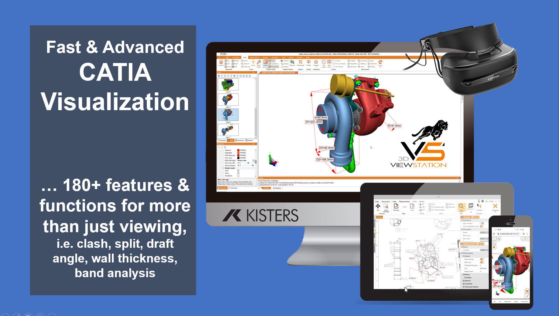 Kisters 3DViewStation: CATIA Viewer