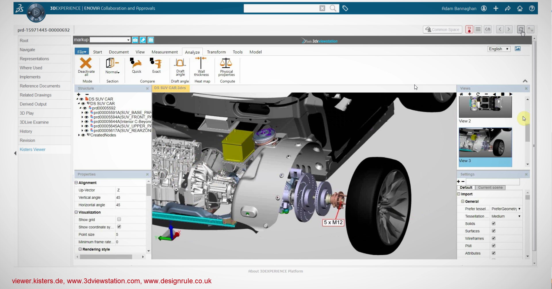 Catia viewer for 3DExperience and SmarTeam